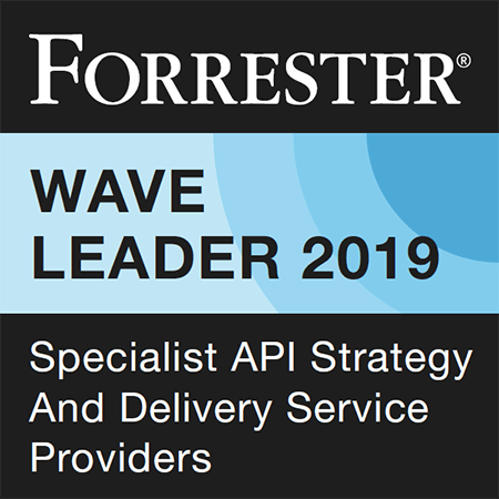 Forrester Wave Leader in API Strategy